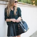 eatsleepwear, outfit, leather, plaid