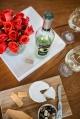 eatsleepwear, ecco-domani-wine, flowers, happy-hour