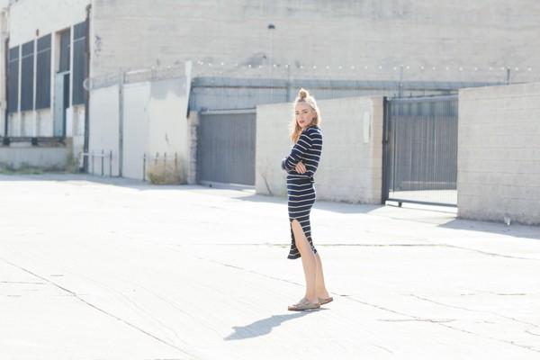 eatsleepwear, LNA, stripes, DTLA, birkenstock, kimberly pesch