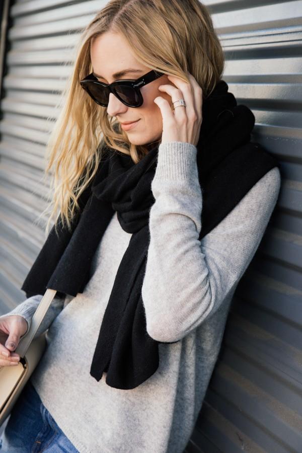 eatsleepwear, kimberly pesch, 360 sweater, frame denim, celine, intermix