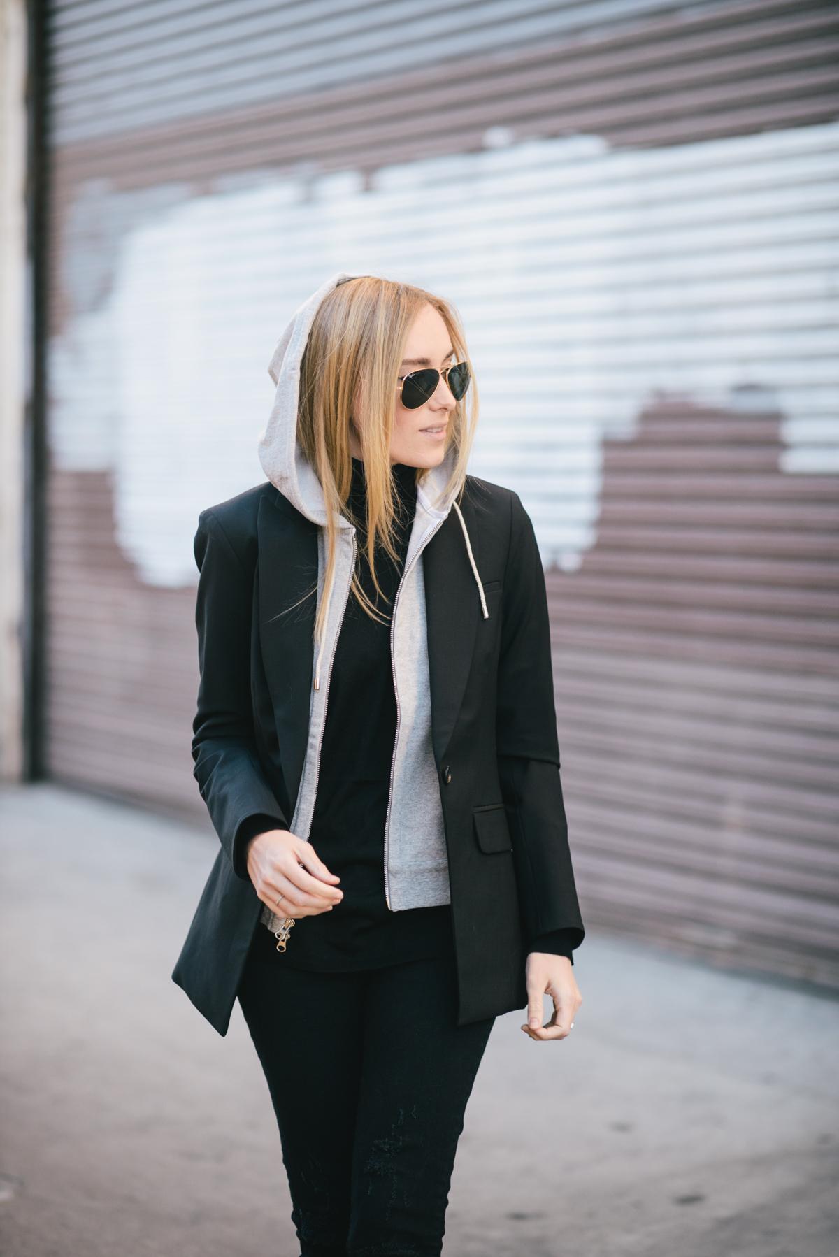 Hoodie Meets Blazer Eat Sleep Wear Fashion Amp Lifestyle Blog By Kimberly Pesch