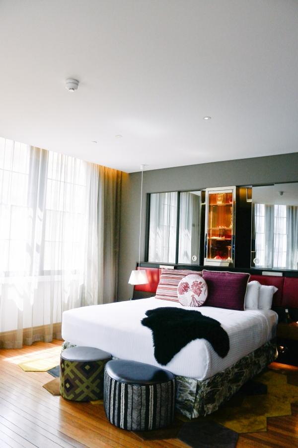 eatsleepwear, kimberly pesch, honeymoon, Sydney, travel, Australia, QT Sydney, Hotel