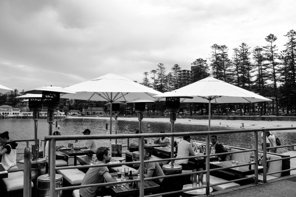 eatsleepwear, kimberly-pesch, honeymoon, Sydney, travel, Australia, Manly Beach
