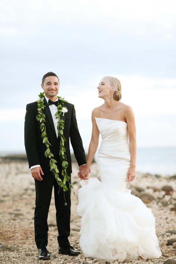 kimberly pesch, kimberly lapides, eatsleepwear, Alison Conklin, Wedding, Hawaii, Maui, Olowalu Plantation House, Beach Wedding