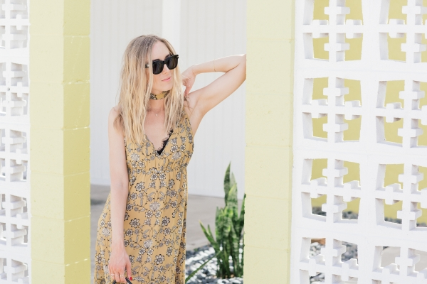 eatsleepwear, coachella, Kimberly Pesch, for love and lemons, saint laurent, celine, palm springs, Kimberly Lapides