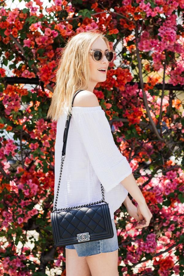 eatsleepwear, kimberly lapides, Joes Jeans, Michael Stars, Chanel, Birkenstock