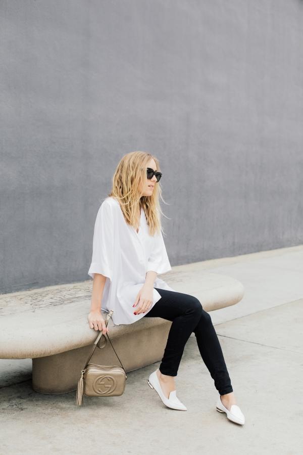 eatsleepwear, Outfit, Kimberly Lapides, Acne Studios, Nicholas Kirkwood, Gucci, Celine, Frame