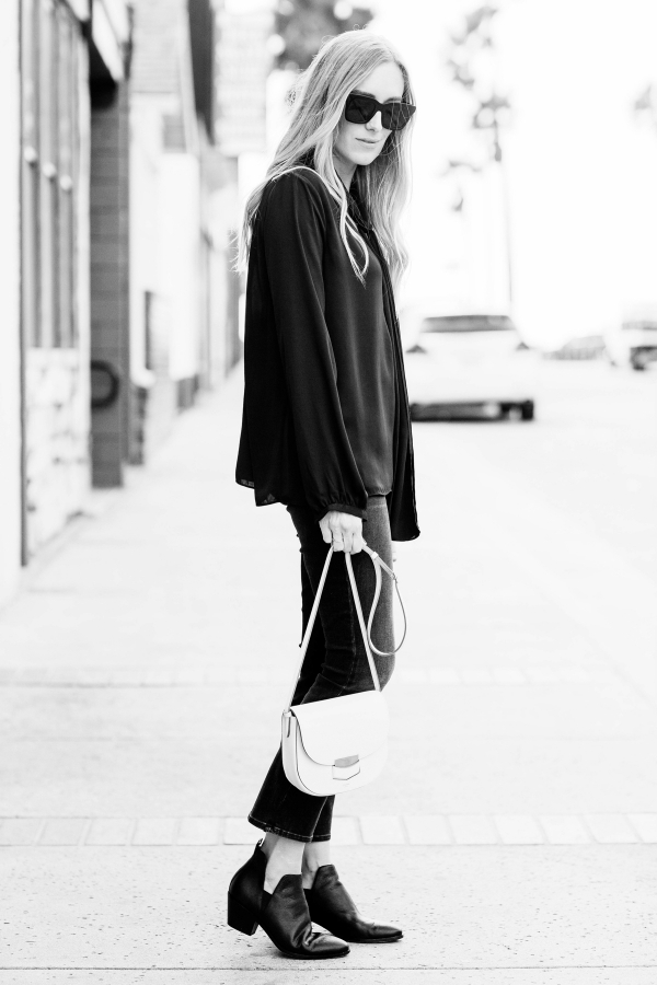 eatsleepwear-outfit-kimberly lapides, lacademie, celine, jbrand, celine, sigerson morrison