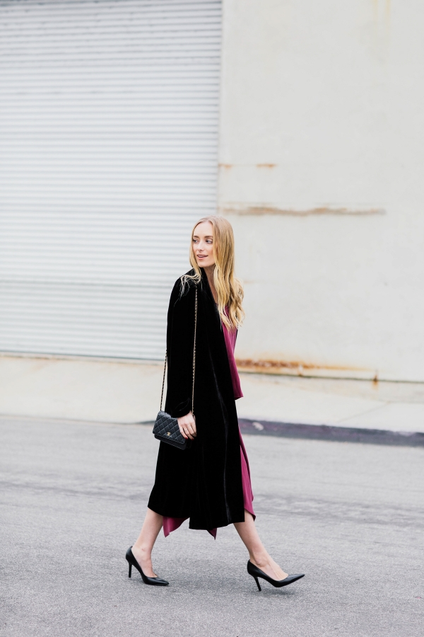 eatsleepwear, Kimberly Lapides, Outfit, Alcon, Elizabeth and James, Nine West, eileen fisher, chanel