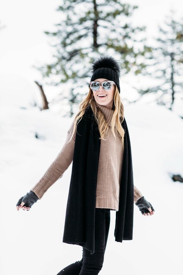 eatsleepwear, Kimberly Lapides, Naked Cashmere, Inverni, Frame, UGG, travel, Big Bear