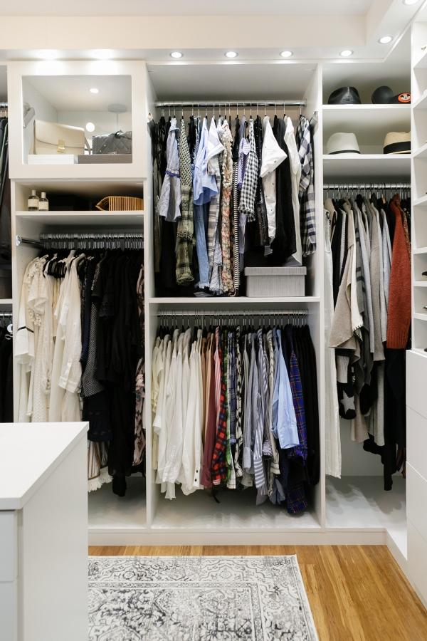 eatsleepwear, Kimberly Lapides, HOME, Closet, California Closets, ParkStudio