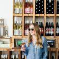 eatsleepwear, Kimberly Lapides, OUTFIT, Santa Barbara, Muni Wines, Nili Lotan, Frame, Sigerson morrison, rayban, chanel