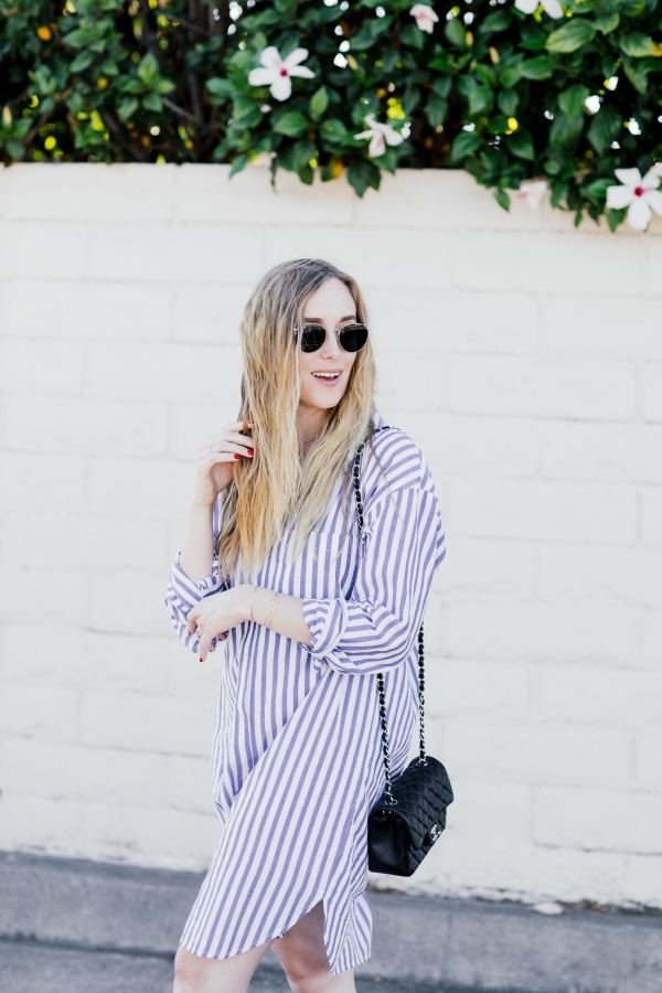 eatsleepwear, Kimberly Lapides, Outfit, Velvet, The Row, Chanel, Rayban