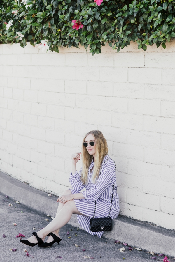 eatsleepwear, Kimberly Lapides, Outfit, Velvet, The Row, Chanel, Rayban