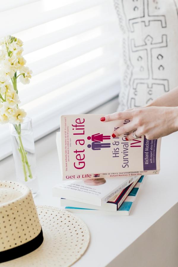 eatsleepwear, Kimberly Lapides, HOME, Infertility, IVF, Books
