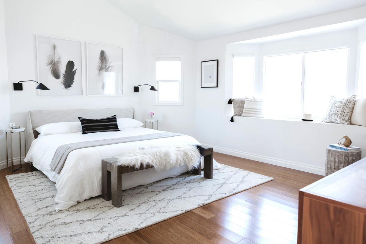Simple Elegant Master Bedroom