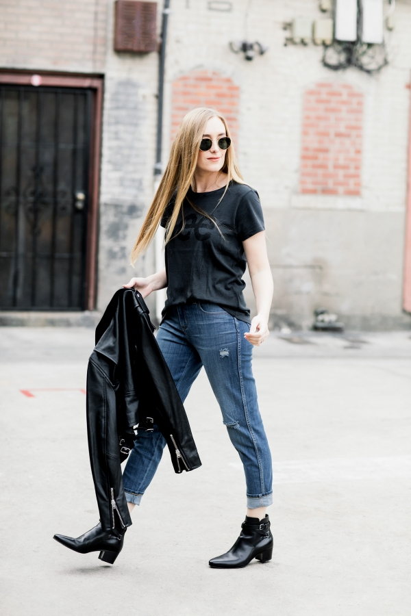 eatsleepwear, Kimberly Lapides, OUTFIT, LEE, Jeans, Denim