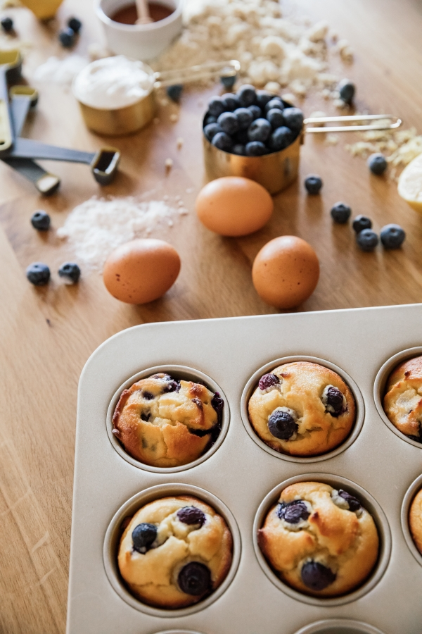 eatsleepwear, Kimberly Lapides, home, recipe, food, kitchenaid blender, blueberry lemon muffins