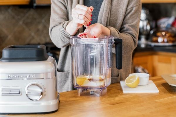 Kitchenaid Mixer Bowl Guilt Free Blueberry Lemon Blender Ins Stand
