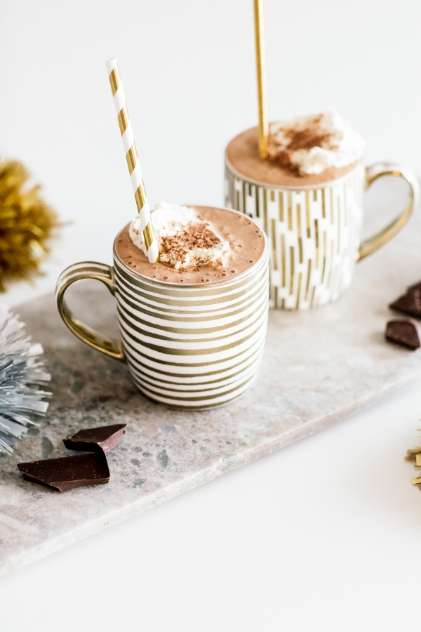 eatsleepwear, Kimberly Lapides, home, recipe, food, kitchenaid, blender, frozen, hot chocolate