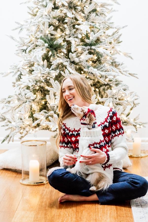 eatsleepwear, Kimberly Lapides, HOME, Holidays, Dog, Pet, Holiday