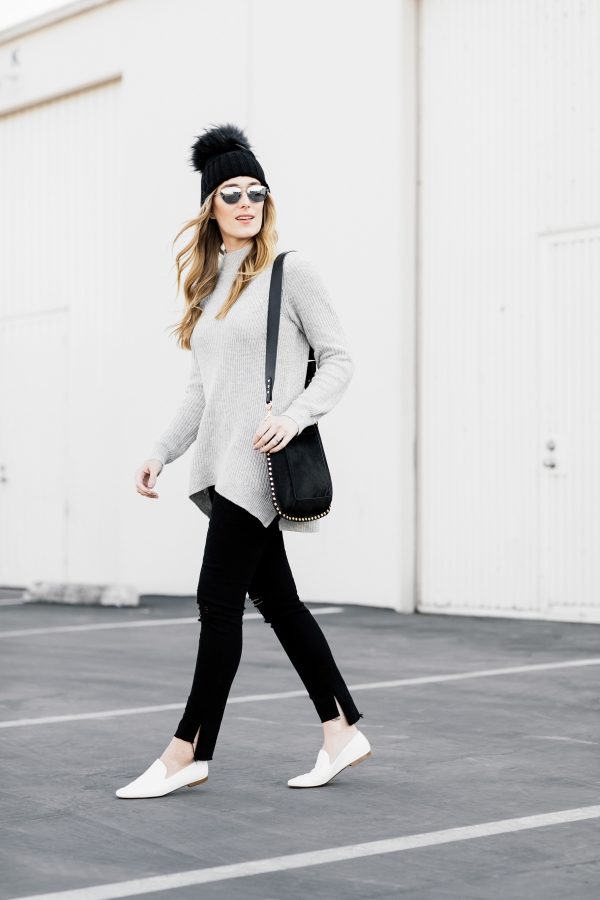 eatsleepwear, Kimberly Lapides, OUTFIT, BP, Nordstrom, Frame, Inverni firenze, Vince, Elizabeth And James