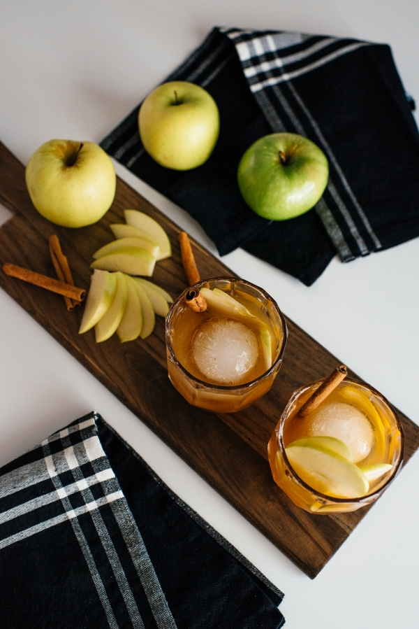 eatsleepwear, Kimberly Lapides, HOME, Recipe, Cocktail, Apple Spiced Old Fashioned