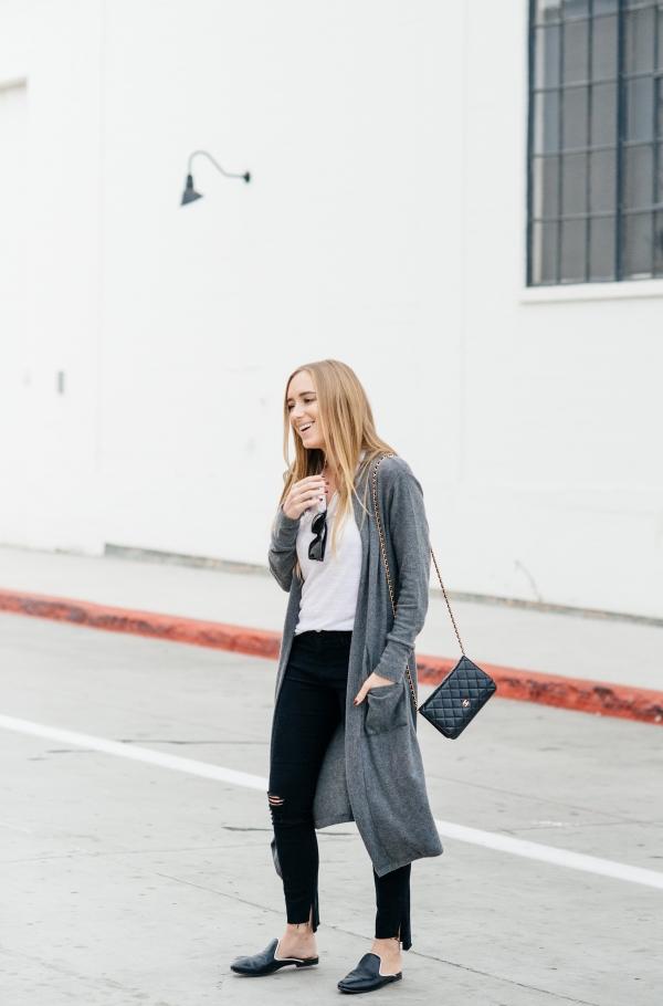 eatsleepwear, Kimberly Lapides, OUTFIT, LNA, Frame, Chanel, Aquatalia, Celine
