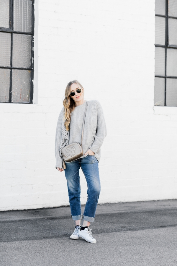 eatsleepwear, Kimberly Lapides, OUTFIT, Rag And Bone, Ag Jeans, Gucci, Ray-ban, Golden Goose