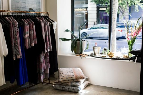 eatsleepwear, kimberly lapides, OUTFIT, Heidi Merrick, DTLA, Store