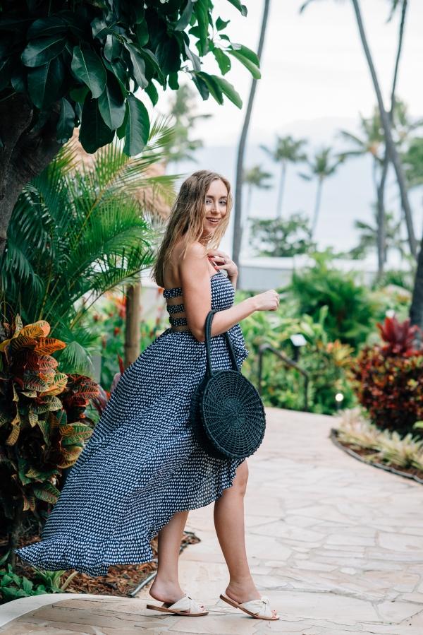 eatsleepwear, Kimberly Lapides, OUTFIT, Maui, Babymoon, Tiare Hawaii, Topshop, Soludos, ariel gordon