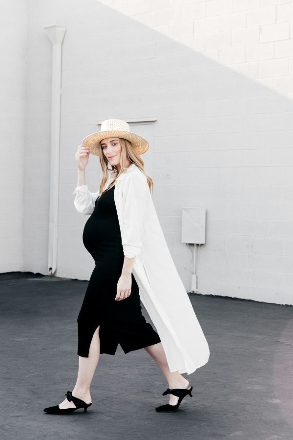 eatsleepwear, Kimberly Lapides, OUTFIT, Storq, whowhatwear collection, janessa leone, the row, netaporter, pregnancy