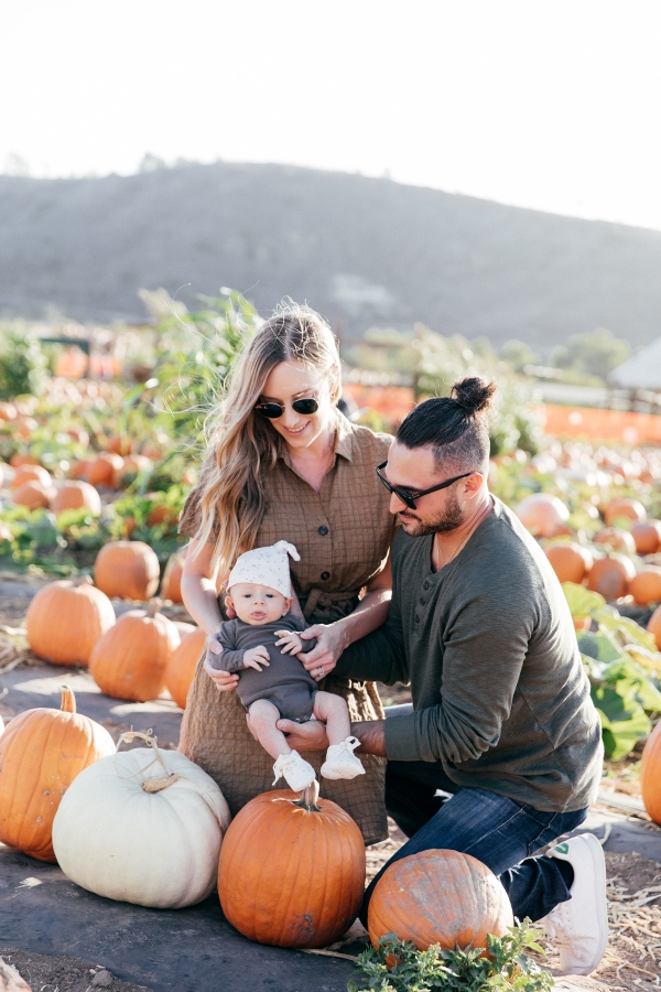 eatsleepwear, Kimberly Lapides, OTIS, Family, Halloween, Pumpkin Patch