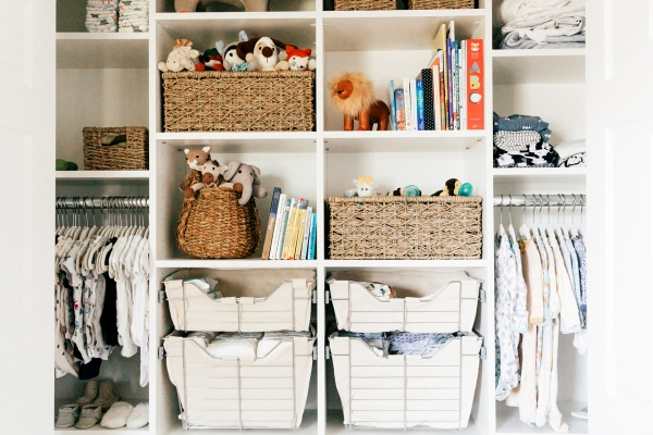 eatsleepwear, Kimberly Lapides, OTIS, Family, Nursery, Baby, California Closets