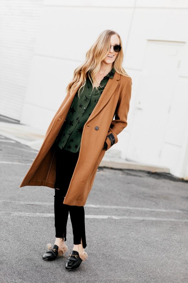 eatsleepwear, Kimberly Lapides, OUTFIT, Aritzia, Rails, Frame, Rayban, gucci