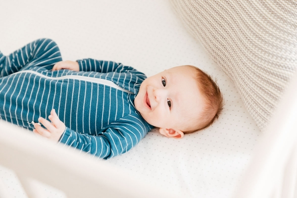 eatsleepwear, kimberly lapides, family, baby, motherhood, otis, sleep, newborn, 5 months