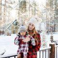 eatsleepwear, Kimberly Lapides, TRAVEL, Family, Motherhood, Big Bear, Snow, Aritzia, Gap, Ugg, HM