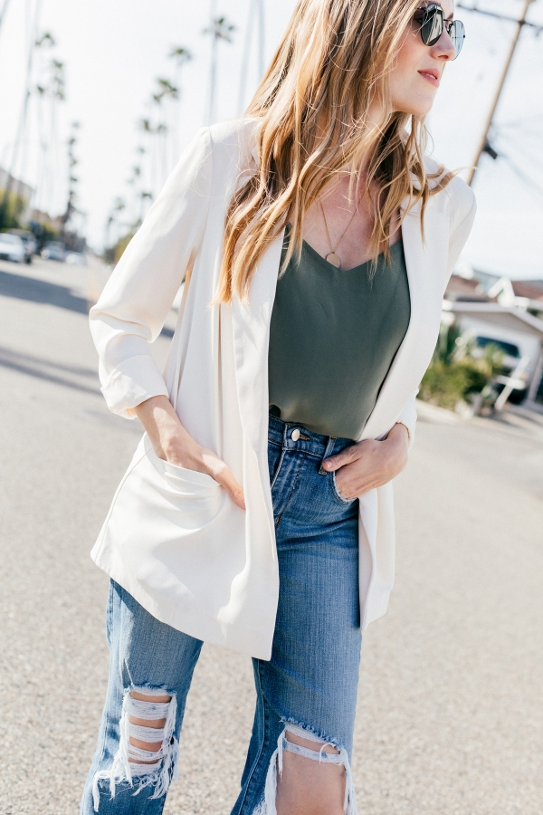 Outfit, Eatsleepwear, kimberly lapides, topshop, lagence, rayban, veja