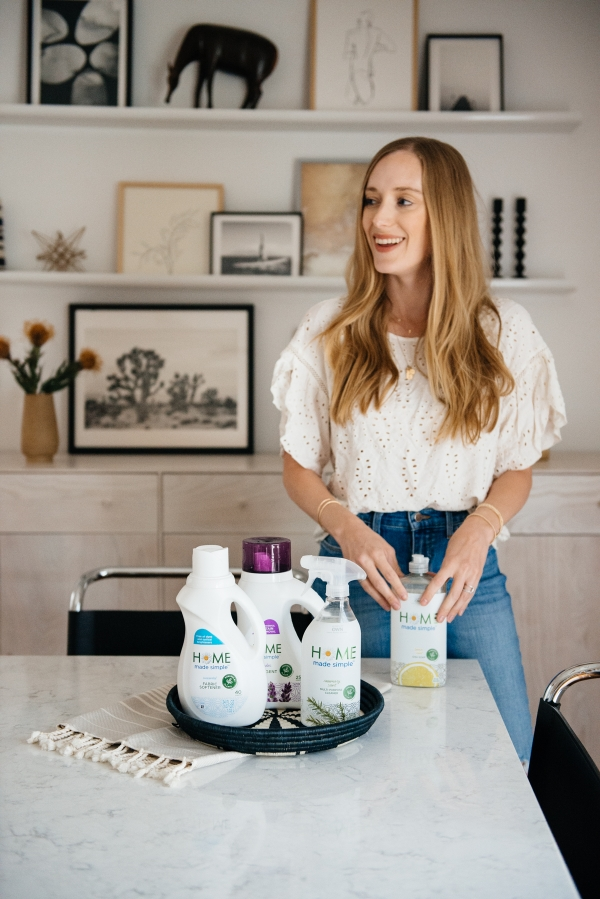 eatsleepwear, Kimberly Lapides, HOME, Home Made Simple, Cleaning Products, Plant Based