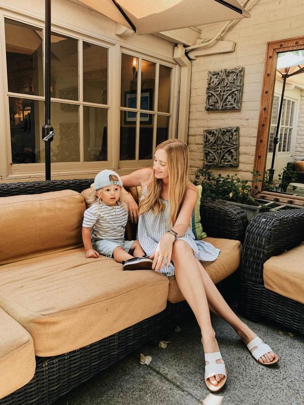 eatsleepwear goes on a family trip with toddler to Rancho Bernardo Inn
