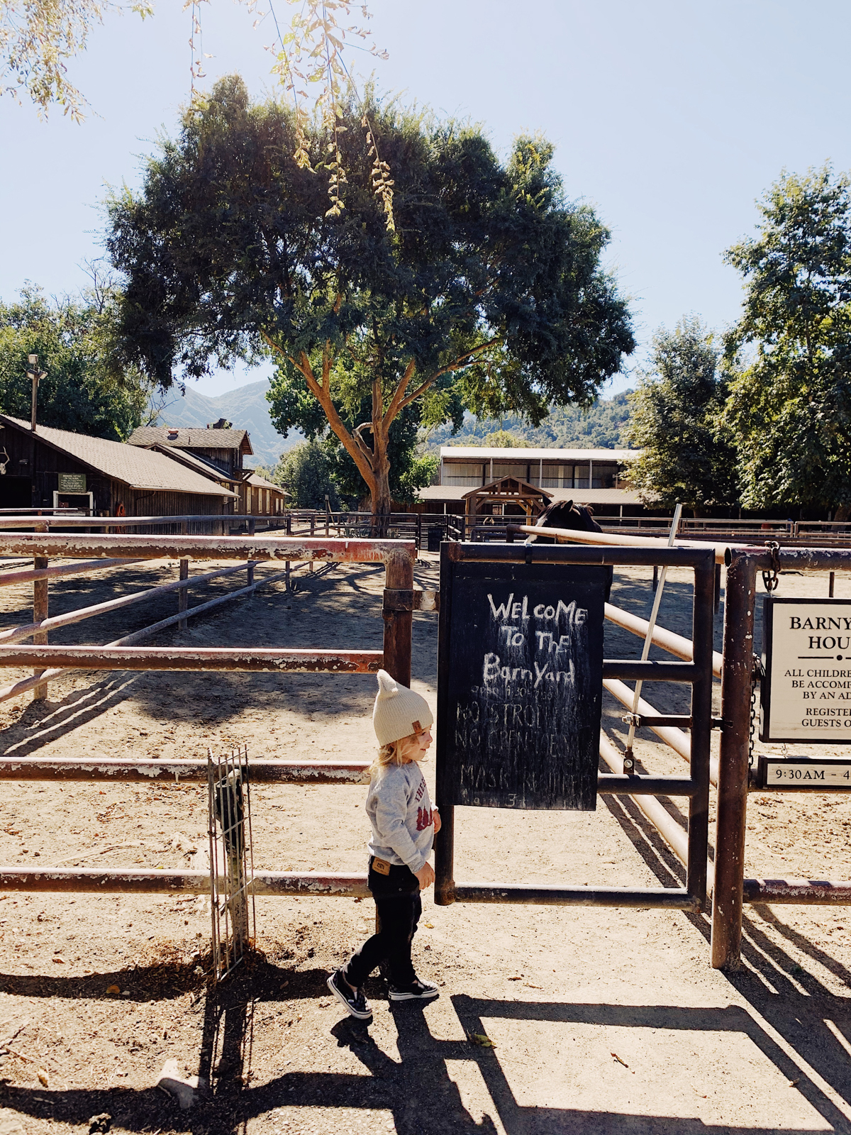 Kids barnyard at Alisal Guest Ranch and Resort