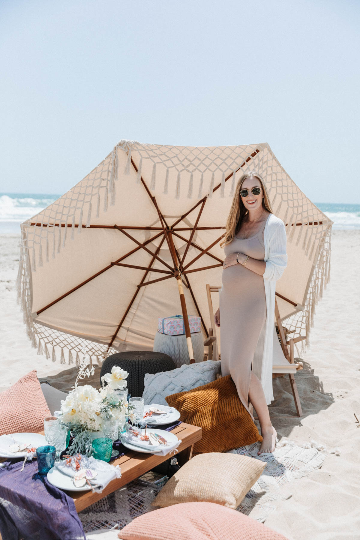 Beach Picnic Baby Shower Sprinkle